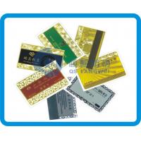PET Customized Plastic Card Printing Eco-Friendly With Magnetic Stripe