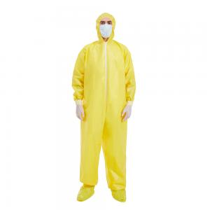China TUV Non Woven Protective Clothing , OEM Lightweight Disposable Coveralls on sale