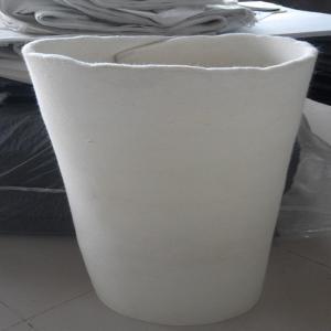 China 8mm 10mm  white wool felt roll on sale