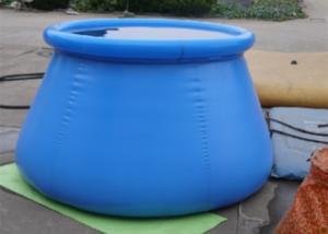 China High Safety Bladder Rainwater Tanks , Pillow Water Tank Convenient Installation on sale