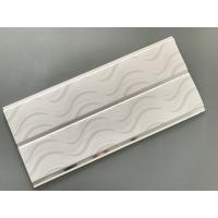 Modern Design Gloss White Ceiling Panels Recyclable Hot Stamping Treatment