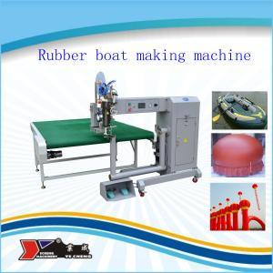 China machine de cachetage de couture d'air chaud de PVC on sale