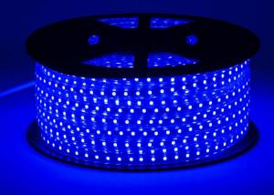 China Blue Waterproof Led Light StripsHigh Voltage Input 4.4W Power Per Meter on sale