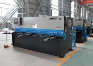 China Automatic Sheet Metal Cutting Hydraulic Shearing Machines 18.5KW Motor Power on sale