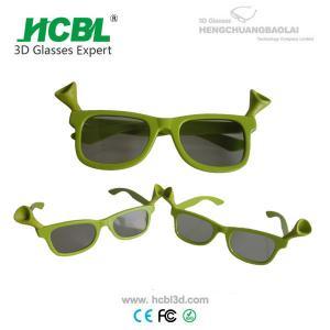 China vidrios seguros cómodos de los niños 3d del cine de los vidrios del realD 3d del marco plástico on sale