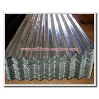 China 0.15-0.45mm Thick Corrugated Galvanized Zinc Coated Roofing Sheet on sale