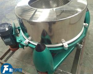 China Stainless Steel Industrial Scale Centrifuge High Capacity Food & Oil Processing Usage on sale
