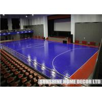 Indoor sport court flooring Futsal/Soccer/ badminton /Basketball/Table Tennis Court manufacturer
