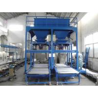 Big Jumbo Bag Filling Machine , Chemical / Fertilizer Bagging Plant
