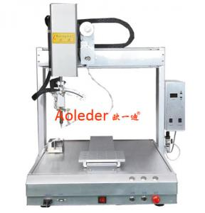 China PCB Spot Soldering Machine High Efficiency Desktop Soldering Robot on sale