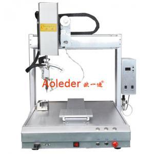 China PCB Spot Soldering Machine High Efficiency Desktop Soldering Robot on sale