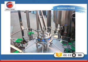 Quality 3 In 1 Purified Drinking / Mineral Water Auto Water Filling Machine Washing for sale