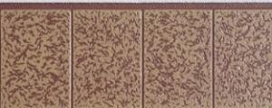 China External wall panel Heat preserving and insulating Tile texture on sale