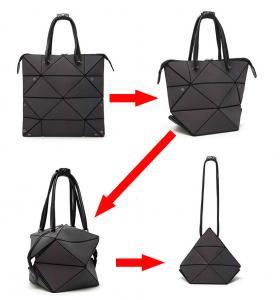 China Geometric Bags and Purses For Women, Luminous Flash Shard Lattice Fashion Totes Shoulder Handbags on sale