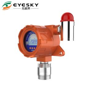 China Exd II CT6 IP66 Hydrogen Gas Leak Detector Three Colors Backlight on sale