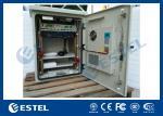 Custom Pole Mount Metal Enclosure Galvanized Steel BTS Outdoor Cabinet