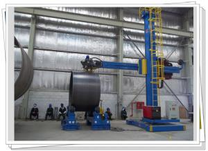 China Wind Tower Production Line Column Boom And Rotator Auto Weld Station on sale