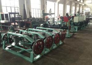 China Double Reverse Twist Barbed Wire Machine High Speed Operation For  Expressway on sale
