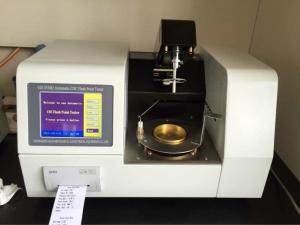 China GD-3536D Automatic Cleveland Open Cup Flash Point &Fire Point Test Equipment on sale