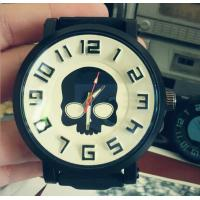 2015 New Fashion Classic Skull Patterned Big Dial Men