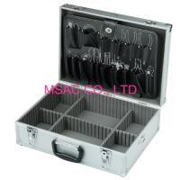 2.5 Kgs Aluminum Hand Tool Boxes , Durable Aluminum Briefcase Tool Box
