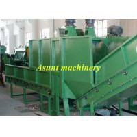 Single air exhaust PET Recycle Machine 500kg / h High efficiency Plastics Extrusion Machinery