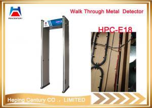 China Walk Through Infrared Fever Sensing System metal detector gate on sale