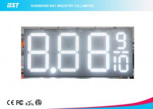 China 24 Inch Outdoor Led Gas Price Changer / Gas Station Price Sign Numbers on sale