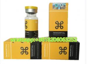 Immortal Pharmacetical Injection Custom Vial Labels With
