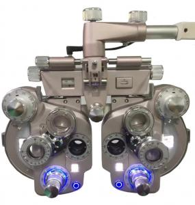 China New Dark Room Refraction LED Lamp Illumination Manual Phoropter for Optometry on sale
