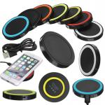 Desktop Mobile Phone QI Fast Wireless Charger , Universal Micro Usb Charger