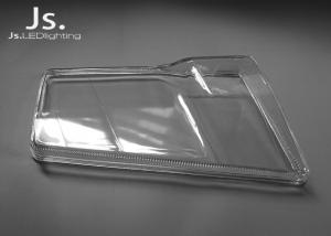 China Headlight Molded LED Glass Lens Cover Car Auto Parts For Mercedes , Smooth Surface on sale