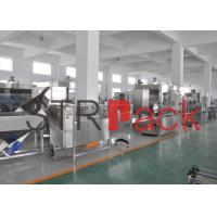 Vertical Automatic Pesticide Liquid Filling Line for liquid detergent with chlorine
