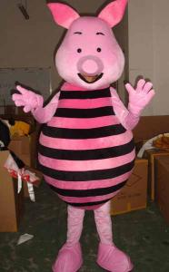Quality lovely pig cartoon mascot costume for sale