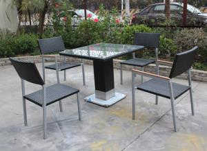 China teca dinning al aire libre furniture-16236 on sale