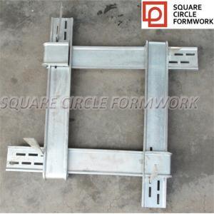 New plastic material plywood panels concrete used peri doka