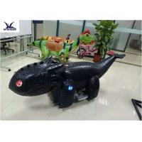Coin Operated Motorized Animal Scooters Game Electric Toy Car Length 1.7 M - 2 M