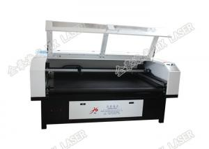 China Teddy Bear Fabric Cutting Machine With Laser Jhx-180100s Stable Operating on sale