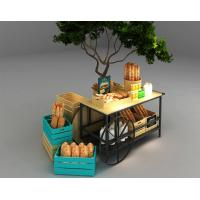 China Car Design Bakery Display Racks / Bread Display Showcase Automobile Styling on sale