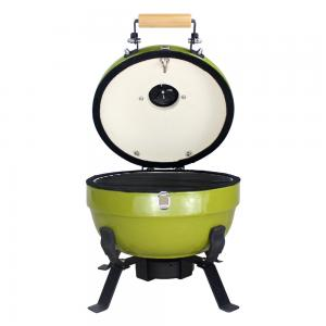 China 2-5 People Kamado Style Mini Barbecue Grill Clay Oven With 55X46X40 Cm Package Size on sale