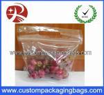Sacs rescellables d'emballage de fruit de sac de raisin de tirette pour le supermarché