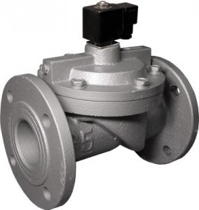 China 1.5 2 2.5  DN100 Water Solenoid Valve Cast Iron Two Port Two Position Flanged on sale