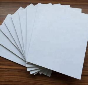 China Osign Paper Foam Board Heat - Resistant Panel UV Printing Type With PE Base on sale