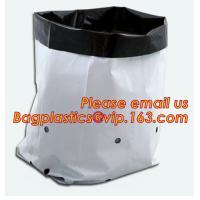 China 5gallon Plastic nursery bag for growing and seedling,polyethylene black grow bags plastic plant pot seeding nursery bags on sale