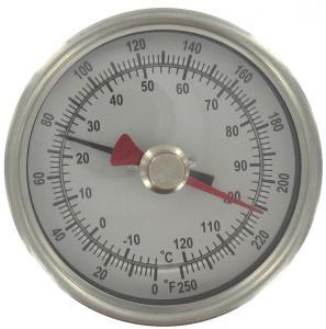 China Outdoor ABS industrial desktop Bimetal Temperature Sensor thermometer hygrometer on sale