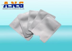 China RFID Card Protector RFID blocking Aluminium sleeve Custom Printed card cover on sale