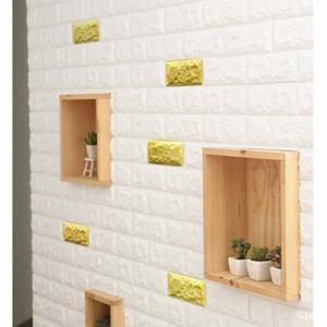 China 3D Fashion PE Foam Wall Sticker Panels Wallpaper Decor on sale