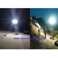 China 400W Portable Rechargeable LED Lights , Rechargeable Tripod Work Light Battery Powered on sale
