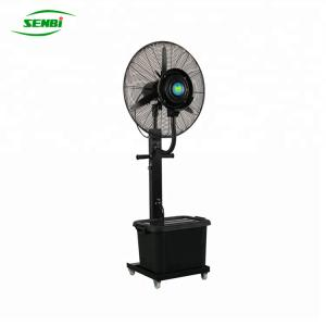 China 30'' Outdoor Water Bottle Spray Cool Stand Fans on sale
