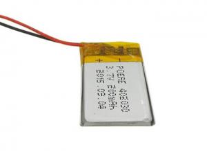China Lthium Polymer 3.7 V 200mah Battery With 20mm Width For Mini Bluetooth Keyboard on sale